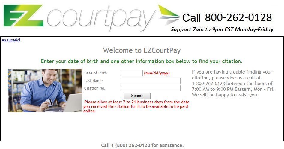 EZ Court Pay