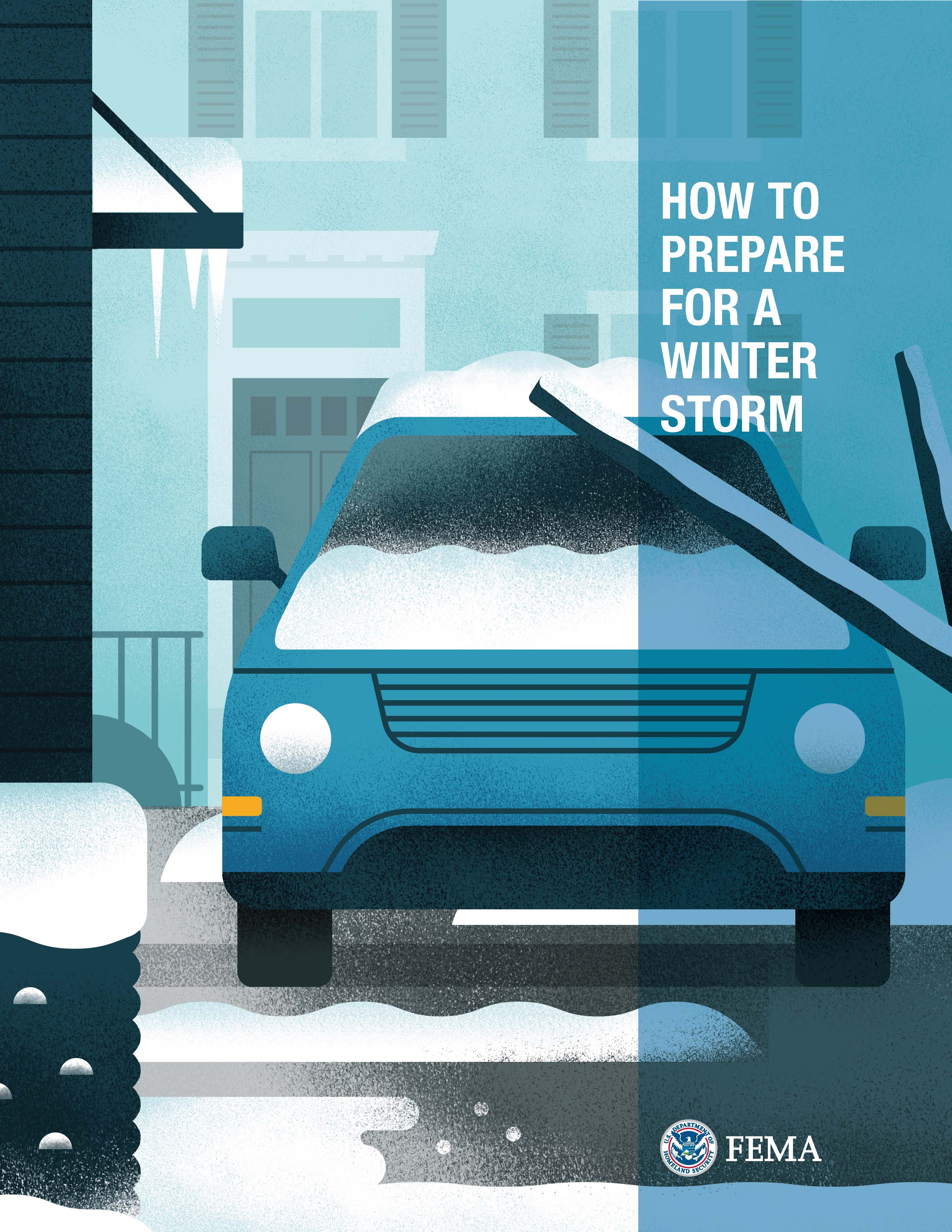 FEMA How to Prepare for a Winter Storm