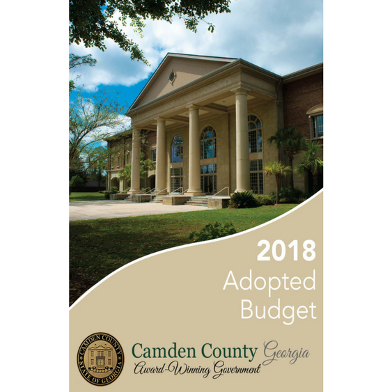 FY 2018 Camden County Adopted Budget