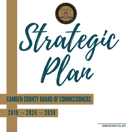 Camden County Board of Commissioners Strategic Plan 2019-2024-2034
