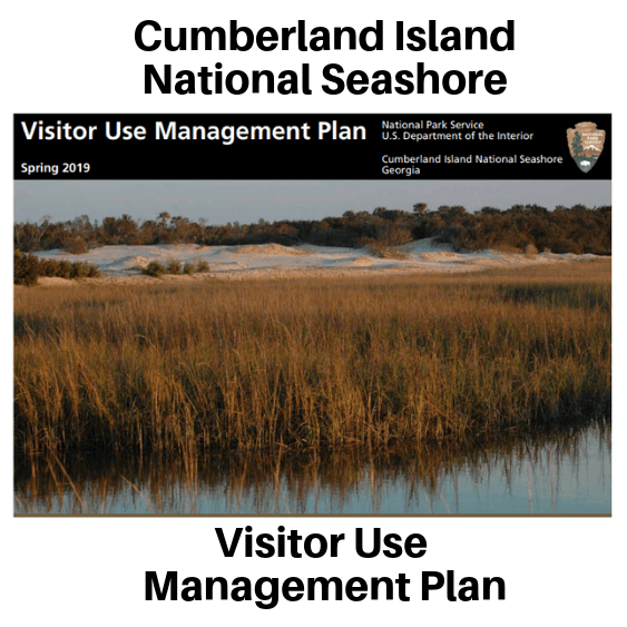 Image of Cumberland Island National Seashore Visitor Use Management Plan Cover