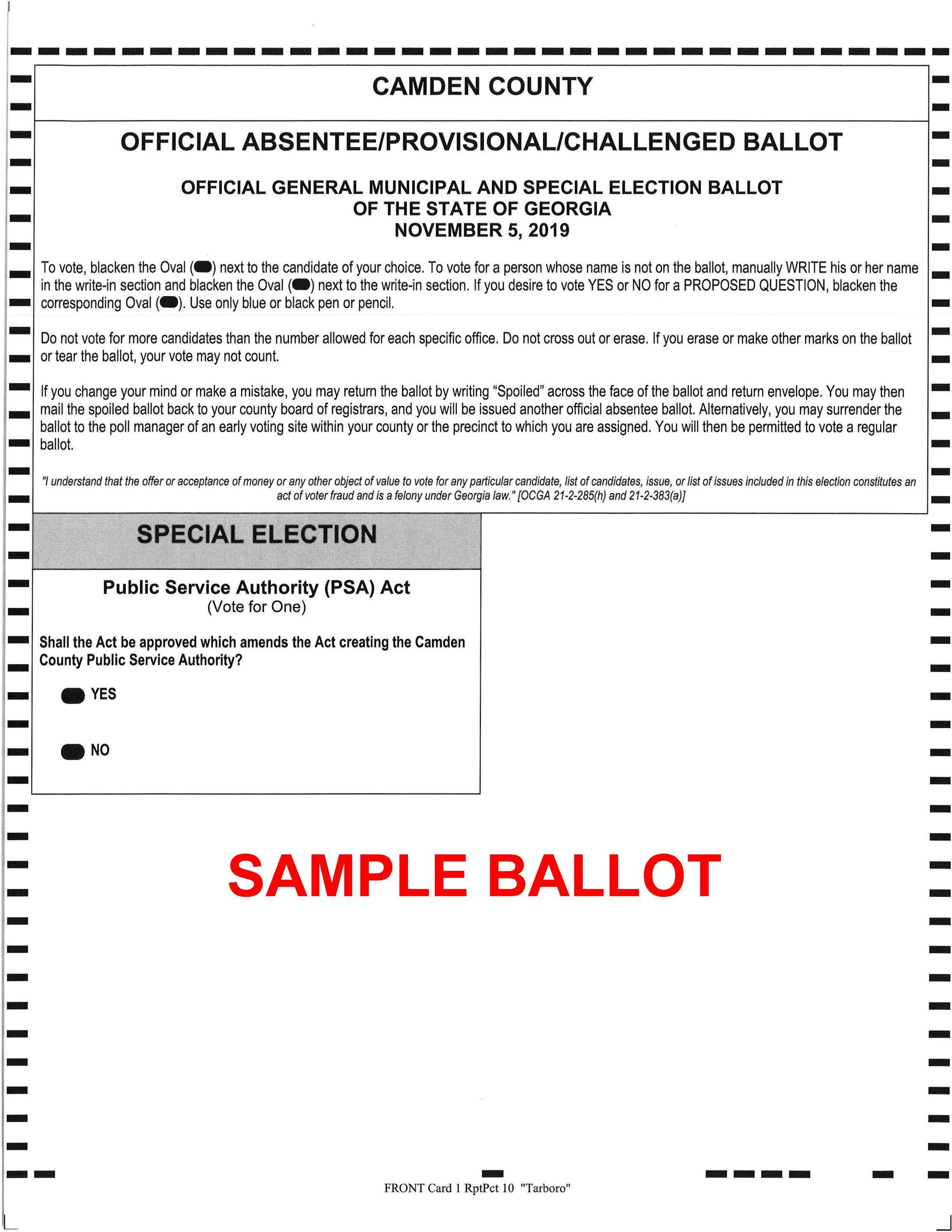 11 05 2019 County Wide SAMPLE Ballot Opens in new window
