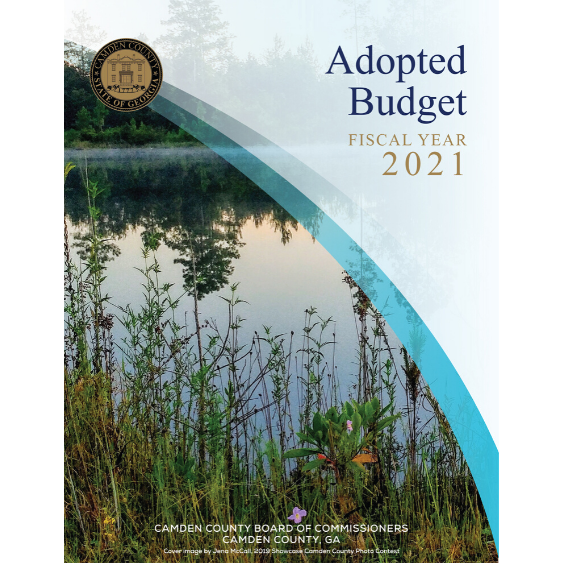 Camden County Board of Commissioners Fiscal Year 2021 Adopted Budget