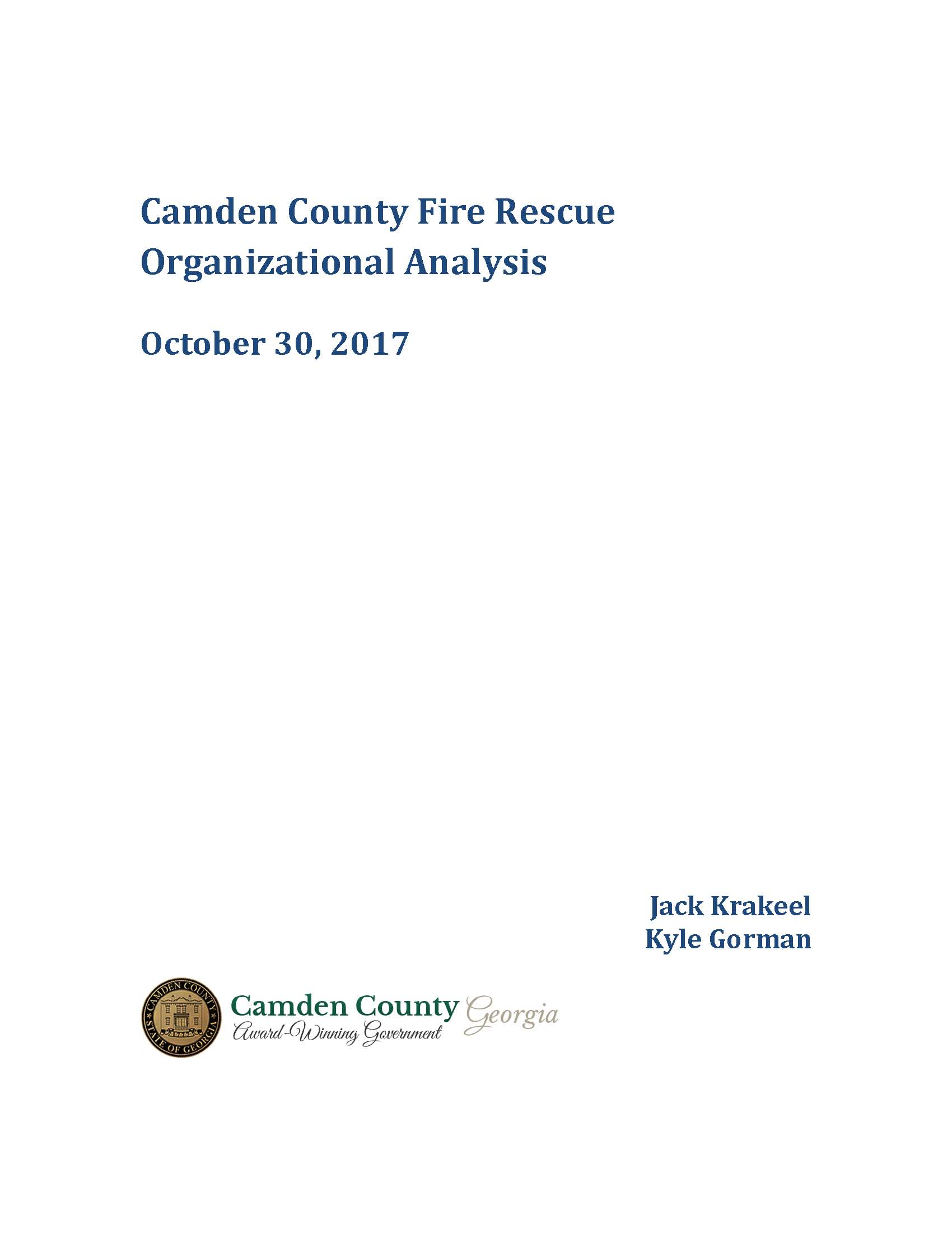 Camden County Fire Rescue Organizational Analysis_Page_01