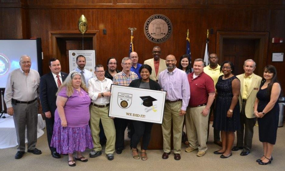 Citizens Academy Graduation 2018